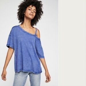 NWT Free People Cutout Tee